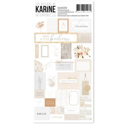Label Stickers Intemporelle - Ateliers de Karine
