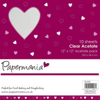 Papermania 12x12 Inch Clear Acetate