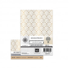 Sokai A5 card-making paper pack - Juste un petit mot