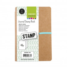 Art Journal A5 Stamp Book - Vaessen Creative
