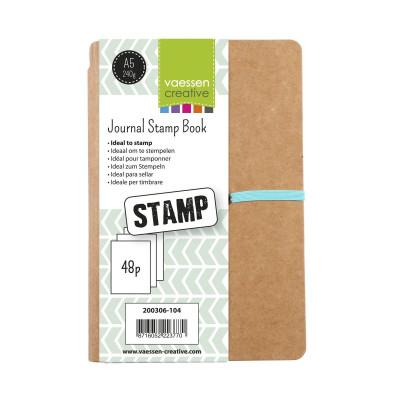 Art Journal A5 Stamp Book - Vaessen Creative