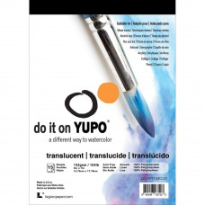 Yupo Bloc 15 sheets Translucent 12.7 x 17.78 cm