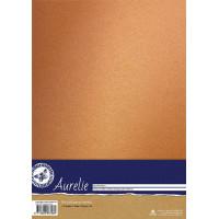 Aurelie Vintage Metallic Cardstock Nostalgic Gold - 10 A4 sheets