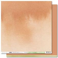 Collection Back to Basics Cahier d'Automne - Les Ateliers de Karine - Scrapbooking paper 10 Terracotta