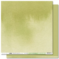 Collection Back to Basics Cahier d'Automne - Les Ateliers de Karine - Scrapbooking paper 9 Leaf green