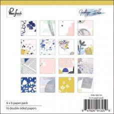 """Pinkfresh Studio Indigo Hills paper pad 6"""" x 6"""""""