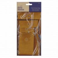Papermania Bare Basics Envelope Bags Rectangle Kraft