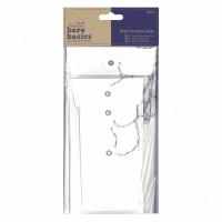 Papermania Bare Basics Envelope Bags Rectangle White