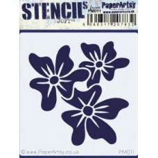 PaperArtsy mini stencil - JOFY PM011