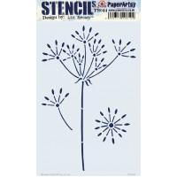 Paper Artsy stencil - ELB PS044