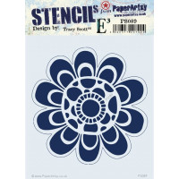 PaperArtsy stencil - EKD PS046
