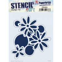 "Paper Artsy stencil - JOFY PS085 6.5x7"""