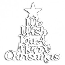 We wish you a Merry Christmas Penny Black Die