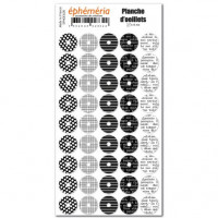 Sticker Sheet of hole reinforcers