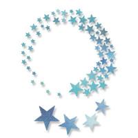 Whoosh! Stars Sizzix Thinlits Dies