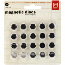 Basic Grey Magnet Discs