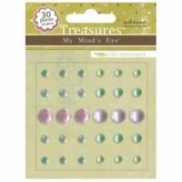 Wild Asparagus Treasures - Gems & Pearls