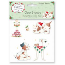 Pepper's Christmas Party Stamps - Sweet Treats