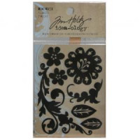 Mini-mask Tim Holtz - Florets