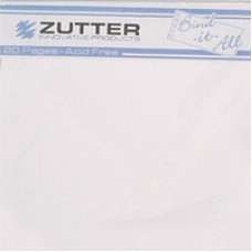 Binding pages - Blanc 20cm x 20cm