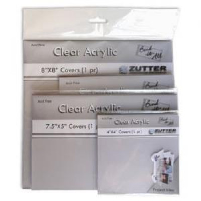 Couvertures claires en acrylique - 15cm x 15cm