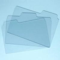 Bind-It-All Clear Folder Tabs
