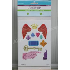 VINTAGE COLLAGE - Cuttlebug Embossing PLUS