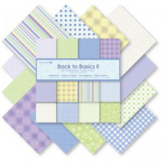 Back to Basics II Paper Pack. - 8x8 Paper Pack