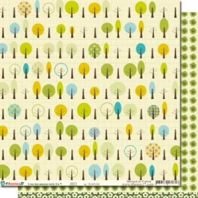 Paper 01 of the collection '4 rue de pouces verts'