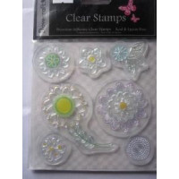 Simply Florals Clear Stamps