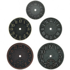 Timepieces - Metal Clock Faces Tim Holtz - Idea-ology