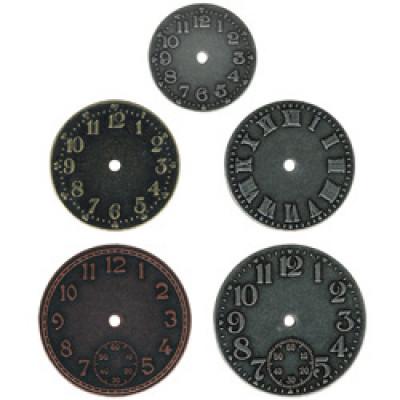 Timepieces - Metal Clock Faces Tim Holtz - Idea-ology