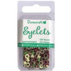 Dovecraft small eyelets - Earthtones