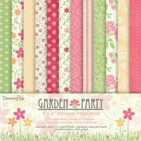 Dovecraft paper pack - Garden Party 6x6