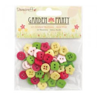 Garden Party Button Pack