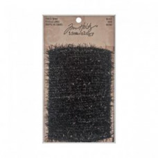 Tinsel Twine Black - Tim Holtz Idea-ology