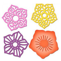 Layered Flowers Shapeabilities S4-355