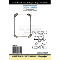 Stamp set 'Chaque jour compte' by Chou & Flowers