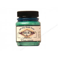 Lumiere Pearl Turquoise Metallic Paint