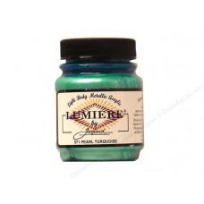 Lumiere Pearl Turquoise Metallic Paint