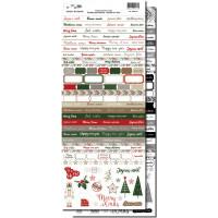 DIY & cie Embellishment sheet - Carterie - fin d'année