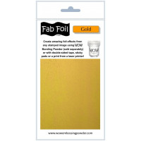 WOW! Fab foil transfer sheets - Bright Gold