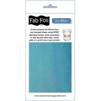 WOW! Fab foil transfer sheets - Ice Blue