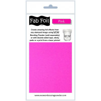 WOW! Fab foil transfer sheets - Pink
