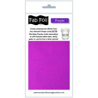WOW! Fab foil transfer sheets - Purple