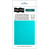 WOW! Fab foil transfer sheets - Teal