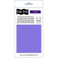 WOW! Fab foil transfer sheets - Violet