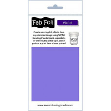 WOW! Fab foil transfer sheets - Violet