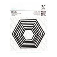Hexagones X-Cut dies