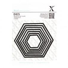 Hexagons X-Cut dies